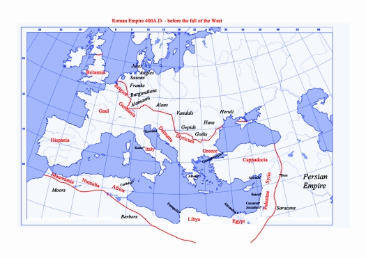 Roman Empire 400AD